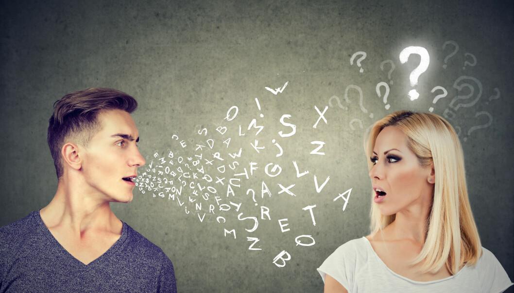 Vil du bli med hjem og se på språkgenet mitt? (Illustrasjonsfoto: Pathdoc, Shutterstock/NTB scanpix)