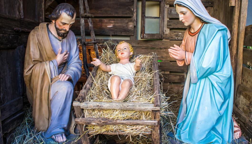 Snart skal vi feire Jesu fødselsdag. Men en leser ønsker seg at folk slutter å tro på ham.  (Foto: marcociannarel / Shutterstock / NTB scanpix)