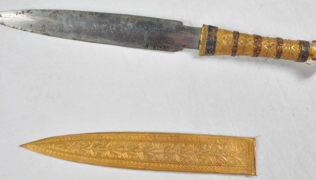 Alt jern fra bronsealderen kom fra meteoritter