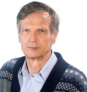 Knut Ingar Westeren er professor ved Nord universitet. (Foto: Roger Grostad)