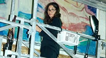 Reddar Munch-skattar i aulaen på Universitetet i Oslo