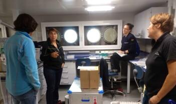 Laboratoriearbeidet om bord på «Kronprins Haakon»: Hvem gjør hva – og hvor?