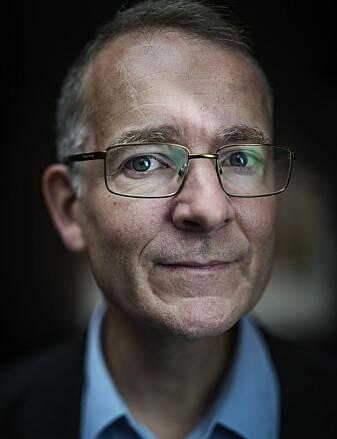 Anders Bakken er leiar av Ungdatasenteret. (Foto: Benjamin A. Ward / OsloMet)