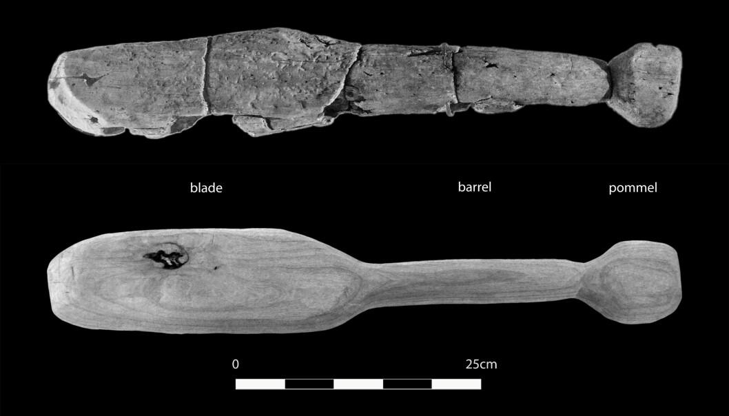 Dette slagvåpenet ble brukt til å knuse skaller for flere tusen år siden