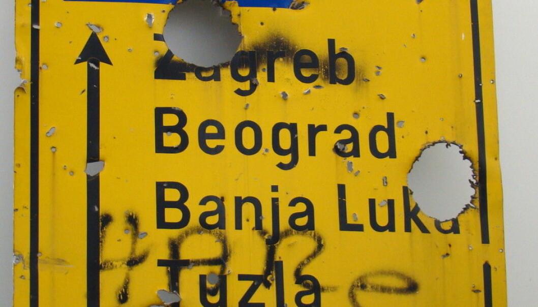 Bosnia-Hercegovina er et eksempel på et land med en omstridt historie, og er ett av landene RePAST-prosjektet skal forske på. (Foto: Queerbubbles, Wikimedia Commons)