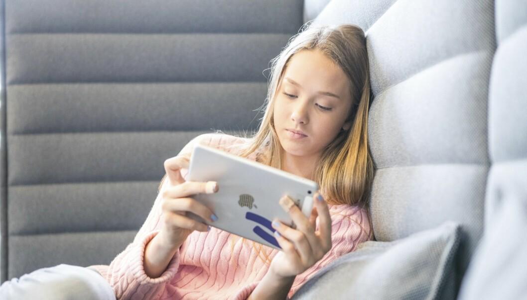 Skjermbruk blant unge fortsetter å øke