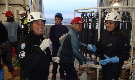 Utforskning av klimagasser i havet og i havisen med fokus på havforsuring