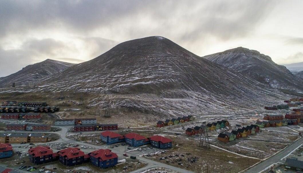 Sju år med temperaturer over normalen på Svalbard