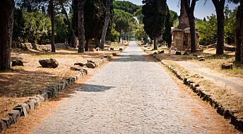 Romerrikets veier preger fortsatt Europas økonomi