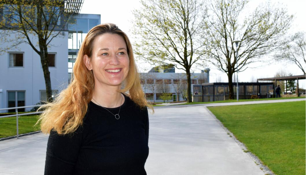 Heidi Victoria Skeiseid gjorde seg ferdig med doktorgraden på to år og ein månad. Vanleg tid er tre år. (Foto: Karoline Reilstad)