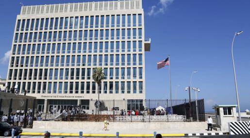Var «lydangrepet» på amerikanske diplomater bare paringskåte sirisser?
