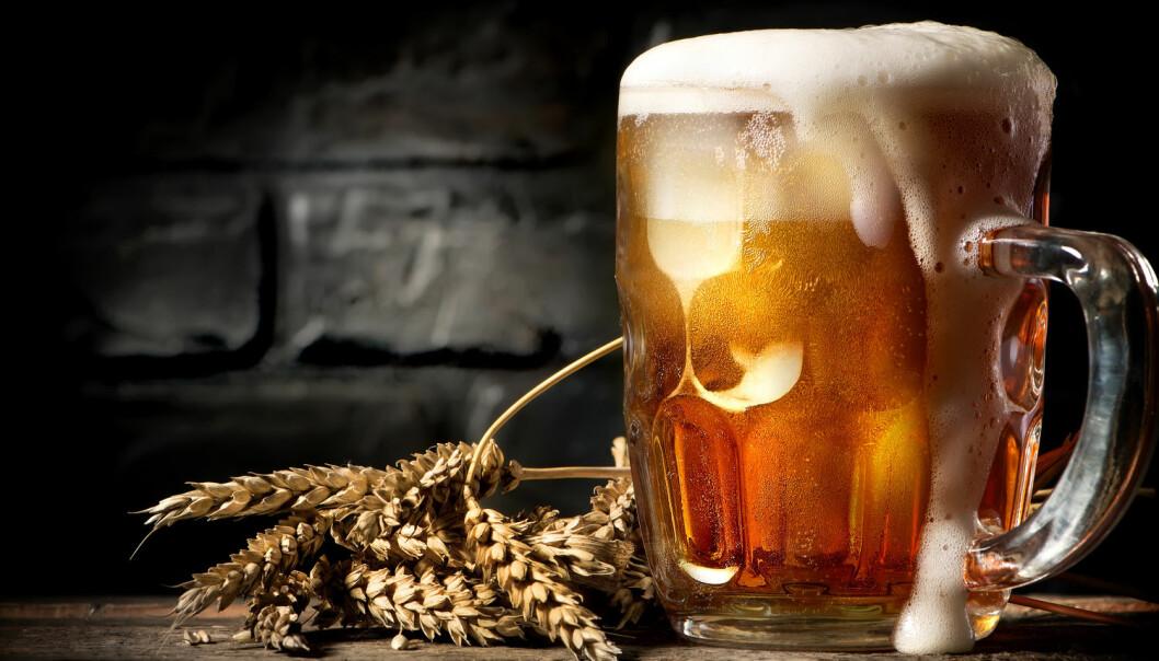Ifølge kristenretten i Gulatingsloven som speglar rettsforholda på 1100-talet, var det påbode for kvar husstand å drikke jula inn. (Foto: Shutterstock / NTB Scanpix)