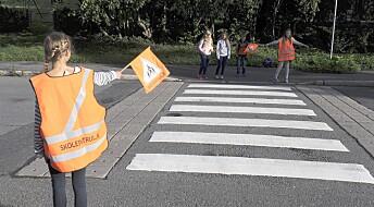 Kraftig nedgang i antallet barn som blir skadd og dør i ulykker på skoleveien