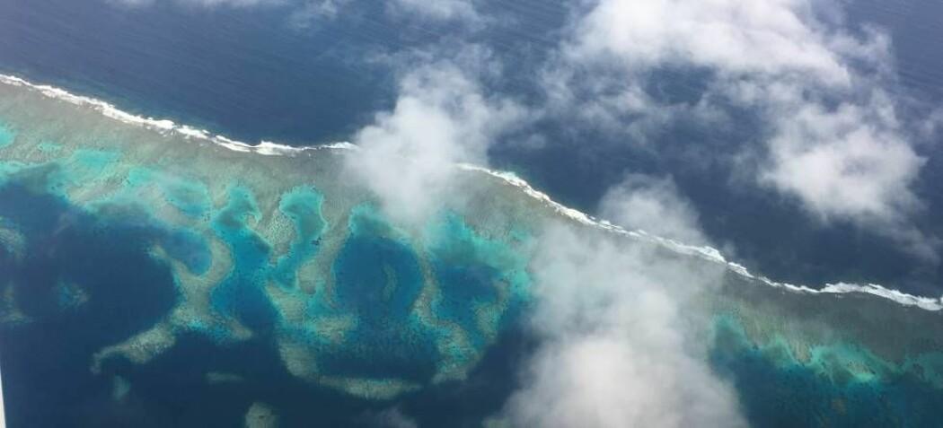 Temperaturen i ulike deler av Stillehavet svinger mellom varme og kalde faser. Det påvirker vær og klima i verdensdeler langt unna. (Illustrasjonsfoto: Gudrun Sylte)