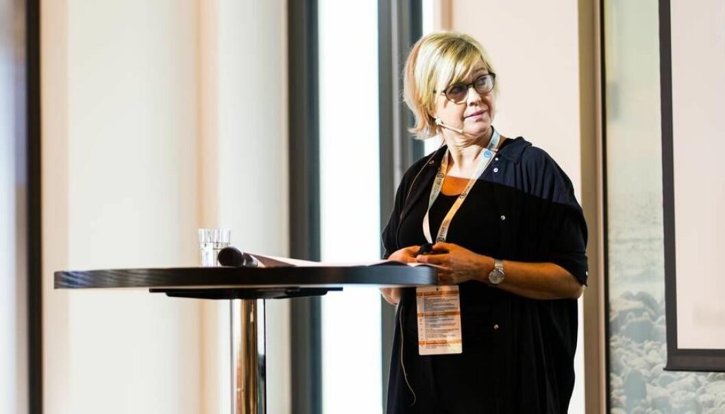 Gunnbjørg Engehagen, rektor ved Sørlandets fagskole. (Foto: Espen Halvorsen Bjørgan)