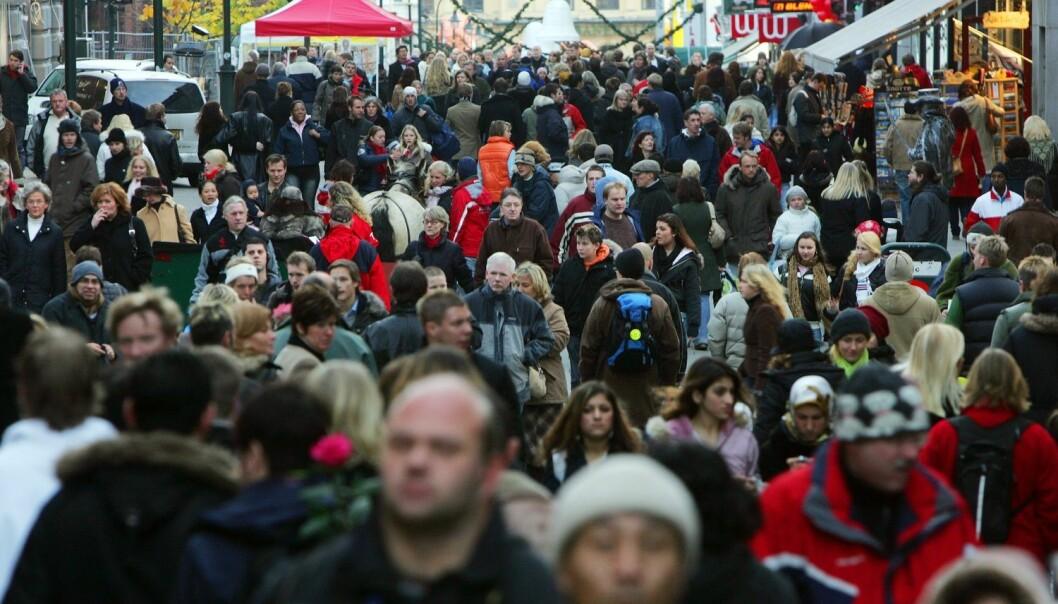 En gang i løpet av 2018 passerer innbyggertallet i Norge 5,3 millioner. (Foto: Håkon Mosvold Larsen / NTB Scanpix)