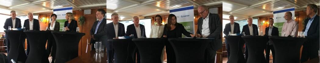 Først lot vi fagfolka kommentere forskningen som ble lagt frem. (Foto: Hege Tunstad/NTNU Energi)