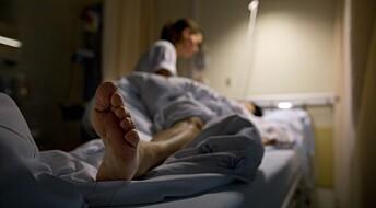 Sykepleiere blir syke av jobben