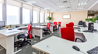 Mindre stress med åpent kontorlandskap