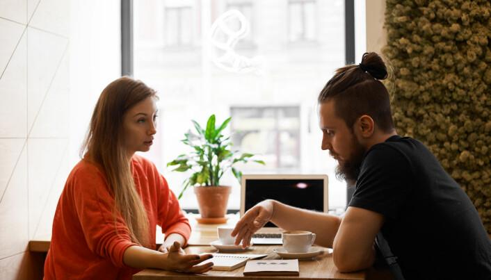 Par snakker ikke sammen om pensjon