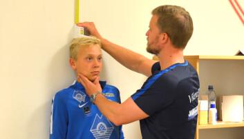 Større fare for fotballskader hos barn som vokser raskt