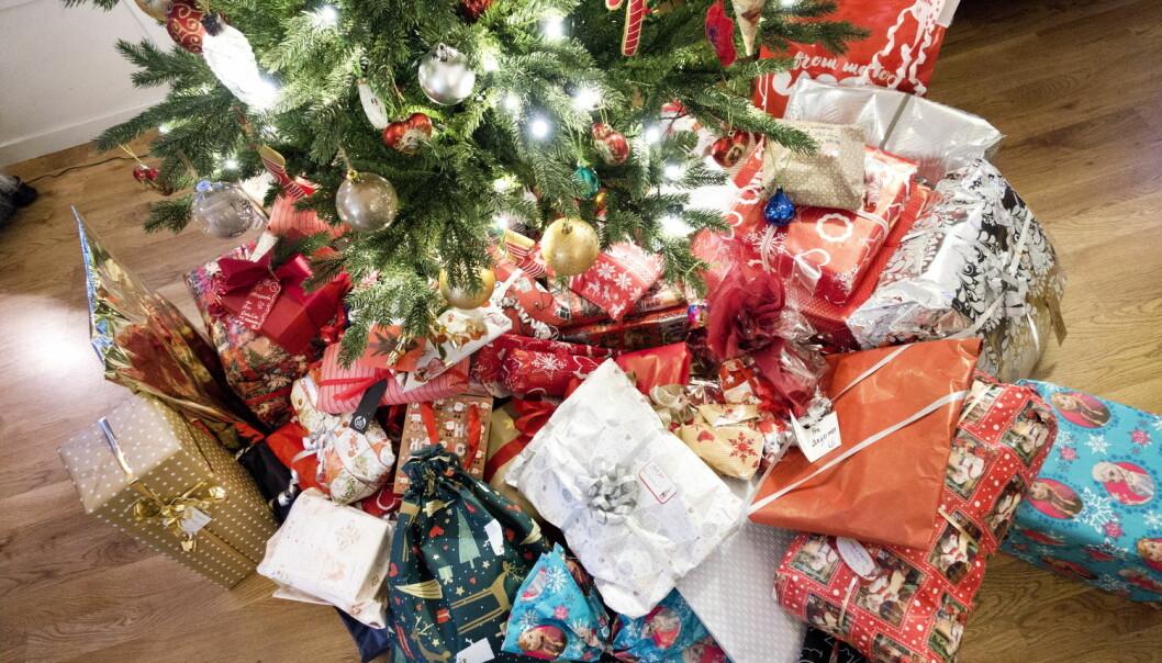 Men hadde julen vært hyggeligere uten julegavene? Nei, mener nordmenn. (foto: Gorm Kallestad / NTB scanpix)