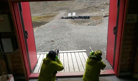 MAREANO kurser mot Svalbard