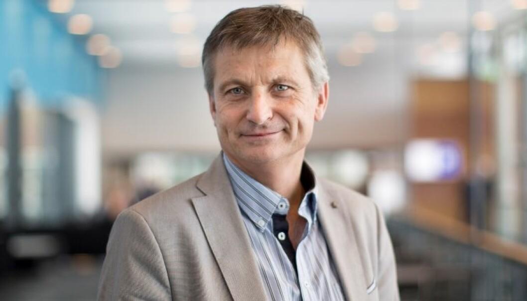 Viserektor for forskning, innovasjon og internasjonalisering ved HSN, Pål Augestad, er tilfreds med tildelingen fra Forskningsrådet. (Foto: HSN)