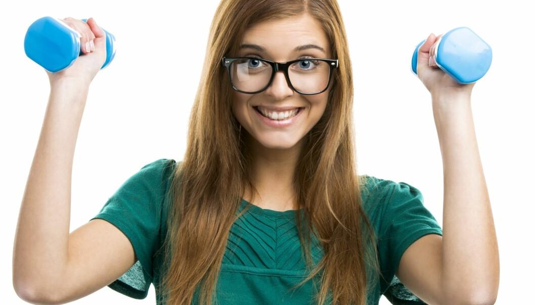 Det kan virke som det bare er tre rollemodeller for jenter: berte, sporty eller nerd.  (Foto: Colourbox)