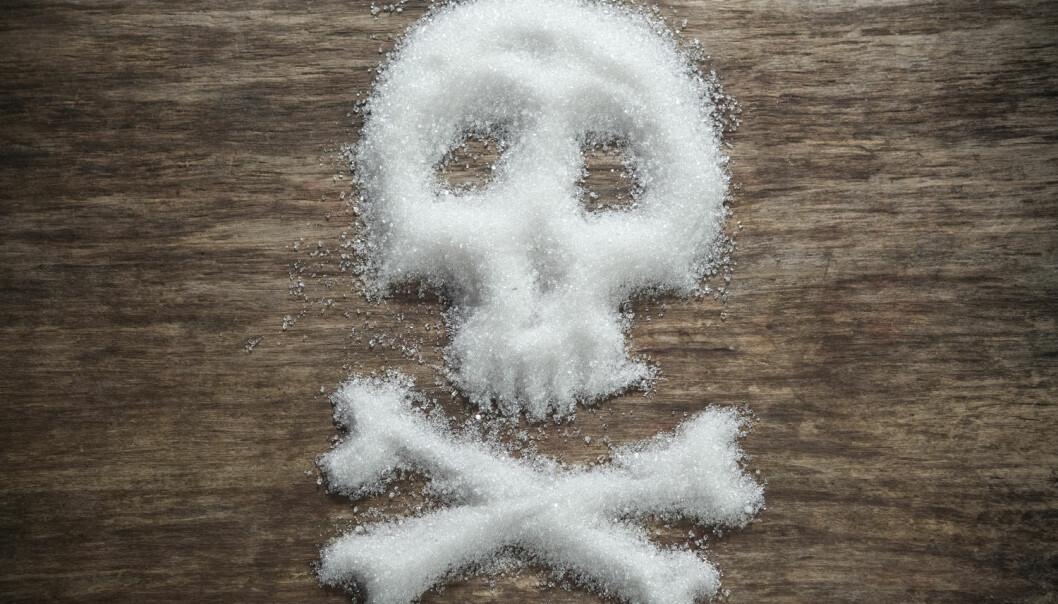John Yudkins forskning og teorier om at sukker kan føre til fedme og hjertesykdommer ble presset ut og latterliggjort. (Illustrasjonsfoto: Shutterstock / NTB Scanpix)