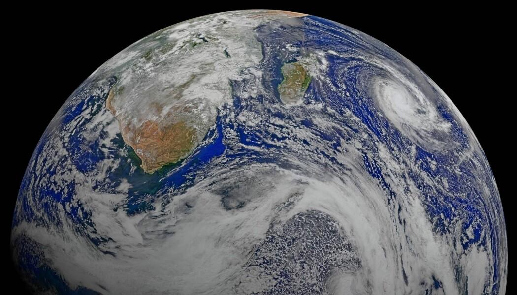 Det går ganske bra på planeten vår, på tross av at det av og til kan føles helt motsatt. (Foto: Ocean Biology Processing Group, NASA)