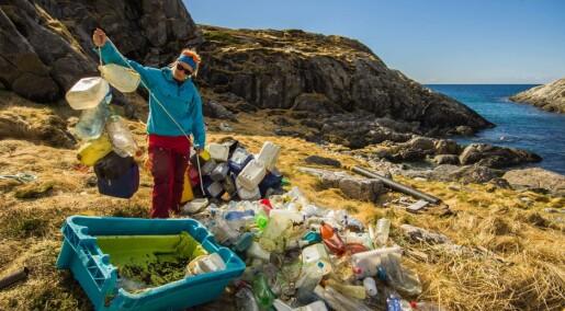 Nytt forskningsprosjekt om plast i Arktis
