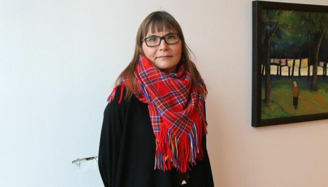 Som i befolkningen ellers er det særlig samiske kvinner som rammes av vold. Mens høy forekomst av fysisk vold i barndommen rammer begge kjønn likt, sier Astrid Eriksen, førsteamanuensis ved HiOA.  (Foto: Susanne Dietrichson)
