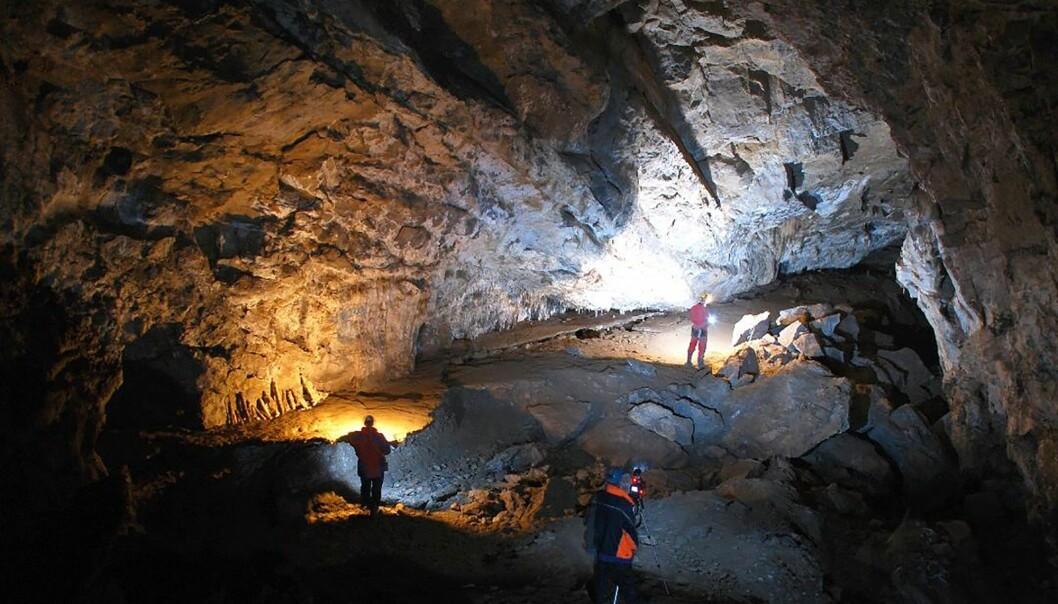 Tausoare-hulen i Romania, som forskerne har brukt til å datere kritiske klimaperioder i tiden da neandertalerne forsvant. (Bilde: Crin Theodorescu)