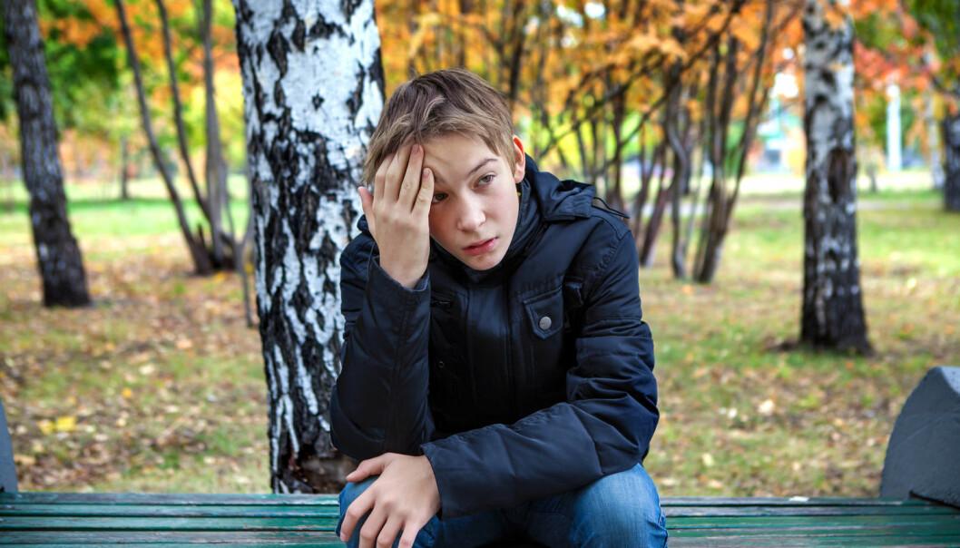 Ungdom som sliter med engstelse og bekymringer, trenger hjelp slik at ikke problemene vokser dem over hodet. Å tilby angstmestringskurs gjennom skolehelsetjenesten kan være et effektivt lavterskeltiltak. (Foto: Shutterstock / NTB Scanpix)