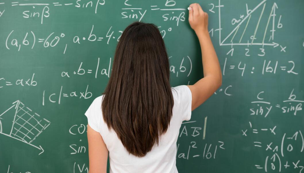 - Vi trenger et tydeligere matematikkfag både i grunnskole, videregående skole og i lærerutdanningen, der det «å forstå» matematikk står sentralt, skriver kronikkforfatteren. (Foto: Shutterstock / NTB scanpix)