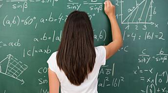 Kronikk: Vi må forstå matematikk, ikke bare pugge