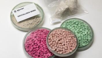 Forskere kan nå måle om og når det er en økning i bruken av MDMA/ecstasy i visse byer, ved å kombinere avløpsprøver med mobildata som viser hvor mange som befinner seg i området på samme tid.  (Foto: Gorm Kallestad/NTB/Scanpix)