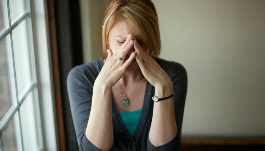 Stadig flere unge svenske kvinner opplever at helsen deres er dårligere enn andres. (Illustrasjonsfoto: Shutterstock/NTB scanpix)