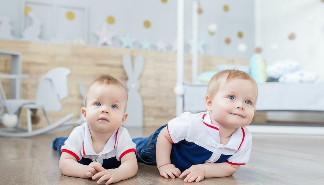 Resultatene fra den nye studien viste at de de eneggede tvillingeneså oftere på de samme tingene enn det de toeggede tvillingene gjorde. (Foto: Vadim Zakharishchev, Shutterstock, NTB scanpix)
