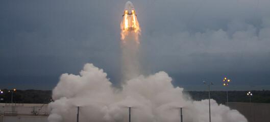 Fortsatt tvil om sikkerheten på kommersielle romfartøy