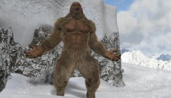 Yeti, eller den avskyelige snømannen, er en stor, menneskelignende, skapning som flere ganger er påstått å ha blitt sett i Himalayas regioner Tibet og Nepal. Fortsatt er det folk i som tror at den finnes. Kan nye DNA-analyser overbevise dem om noe annet? (Illustrasjonsfoto: Shutterstock / NTB Scanpix)
