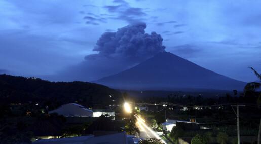 – Vulkanen på Bali får trolig et større utbrudd