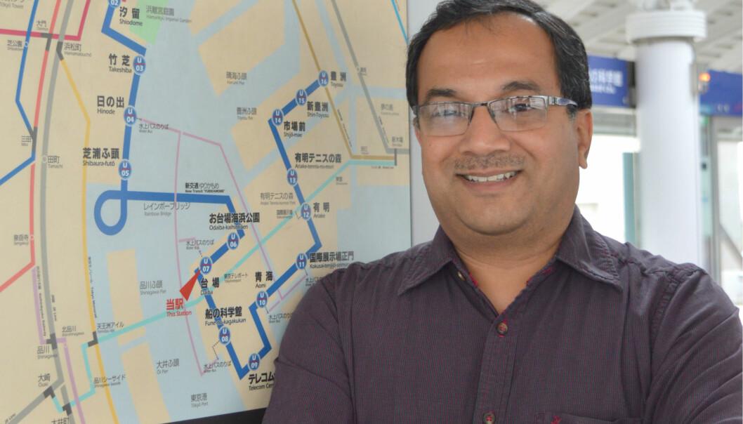 Rajendra Akerkar ved Vestlandsforsking er koordinator for prosjektet (Foto: Vestlandsforskning)