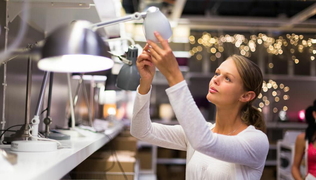 Svensk forsker mener at selgere har mye å gå på når det gjelder det ikke-visuelle i en butikk. [Illustrasjonsfoto:l i g h t p o e t / Shutterstock / NTB scanpix]