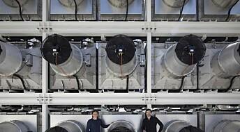 Island skrur på maskin som gjør CO₂ om til stein