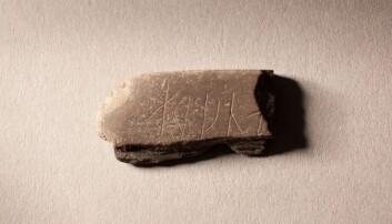 Bryne med mystisk runeinnskrift funnet ved bispeborgen i Oslo