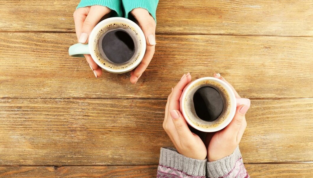 Hvor mye kaffe koppene bør fylles med, og om det er filterkaffe, espresso, kaffe fylt med melk eller andre varianter, kan ikke forskerne si noe om. Vi må forholde oss til 3–4 udefinérbare kopper.  (Foto: Shutterstock / NTB scanpix)