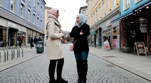 Hvor mange muslimer er det i Norge i 2017?