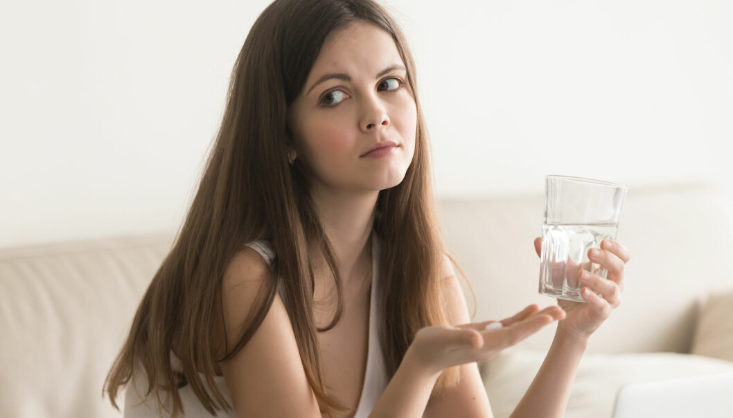 La være å ta antibiotika hvis det ikke er absolutt nødvendig.  (Foto: fizkes / Shutterstock / NTB scanpix)